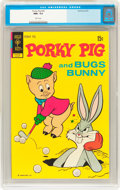 Bronze Age (1970-1979):Cartoon Character, Porky Pig #43 (Gold Key, 1972) CGC NM+ 9.6 White pages....