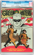 Golden Age (1938-1955):Superhero, Green Lantern #4 Mile High pedigree (DC, 1942) CGC NM- 9.2 White pages....