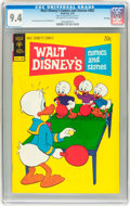 Bronze Age (1970-1979):Cartoon Character, Walt Disney's Comics and Stories #402 File Copy (Gold Key, 1974)CGC NM 9.4 Off-white to white pages....