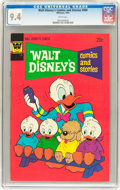 Bronze Age (1970-1979):Cartoon Character, Walt Disney's Comics and Stories #404 (Whitman, 1974) CGC NM 9.4White pages....