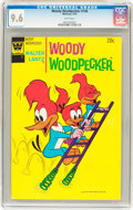 Bronze Age (1970-1979):Cartoon Character, Woody Woodpecker #136 (Whitman, 1974) CGC NM+ 9.6 White pages....