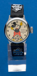 Timepieces:Wristwatch, Mickey Mouse Original Wristwatch By Ingersoll. ...