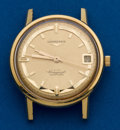 Timepieces:Wristwatch, Longines 18K Conquest Automatic Wristwatch. ...