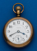 Timepieces:Pocket (post 1900), Elgin, 21 Jewels, Grade 349. ...