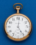 Timepieces:Pocket (post 1900), Hamilton, 19 Jewels, Grade 996. ...