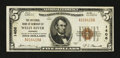 National Bank Notes:Vermont, Wells River, VT - $5 1929 Ty. 1 The NB of Newbury Ch. # 1406. ...