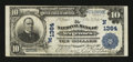 National Bank Notes:Vermont, Vergennes, VT - $10 1902 Plain Back Fr. 624 The NB of Vergennes Ch. # (N)1364. ...