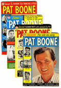Silver Age (1956-1969):Romance, Pat Boone Group (DC, 1959-60).... (Total: 4 Comic Books)