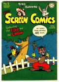 Golden Age (1938-1955):Funny Animal, Real Screen Comics #2 (DC, 1945) Condition: FN....