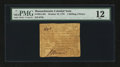 Colonial Notes:Massachusetts, Massachusetts October 16, 1778 1s 6d PMG Fine 12.. ...