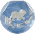 "Movie/TV Memorabilia:Memorabilia, Lucille Ball's Glass ""Lion"" Paperweight. ..."