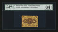 Fr. 1228 5¢ First Issue PMG Choice Uncirculated 64 EPQ