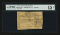 Colonial Notes:New York, New York February 16, 1771 Counterfeit £10 PMG Choice Fine 15 Net.. ...