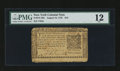 Colonial Notes:New York, New York August 13, 1776 $10 PMG Fine 12.. ...