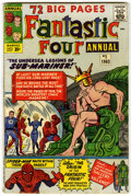 Silver Age (1956-1969):Superhero, Fantastic Four Annual #1 (Marvel, 1963) Condition: VG/FN....