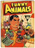 Golden Age (1938-1955):Cartoon Character, Fawcett's Funny Animals #1 (Fawcett, 1942) Condition: GD/VG....