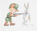Animation Art:Production Drawing, Virgil Ross A Wild Hare Drawing Original Art (Warner Bros.,undated)....