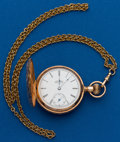 Timepieces:Pocket (post 1900), Elgin 14k, 6 Size, Hunters Case. ...