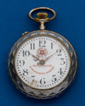 Timepieces:Pocket (pre 1900) , Roskopf Oversize Pocket Watch. ...