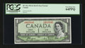 Canadian Currency: , BC-29a $1 1954. ...