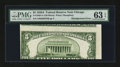 Error Notes:Miscellaneous Errors, Fr. 1962-G $5 1950A Federal Reserve Note. PMG Choice Uncirculated 63 EPQ.. ...