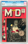 Golden Age (1938-1955):Miscellaneous, M.D. #5 Gaines File Copy pedigree 7/12 (EC, 1955) CGC VF 8.0 Off-white to white pages....