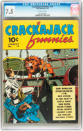 Golden Age (1938-1955):Miscellaneous, Crackajack Funnies #19 (Dell, 1940) CGC VF- 7.5 Off-white pages....