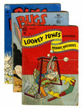 Golden Age (1938-1955):Cartoon Character, Looney Tunes and Merrie Melodies Comics Group (Dell, 1942-53)Condition: Average GD+.... (Total: 22 Comic Books)