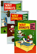 Bronze Age (1970-1979):Cartoon Character, Walt Disney Showcase File Copies Group (Gold Key, 1970-80)Condition: Average VF+.... (Total: 47 Comic Books)