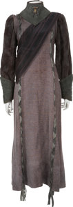 Movie/TV Memorabilia:Costumes, Star Trek: The Next Generation and Voyager Female Klingon Costume.... (Total: 5 Items)