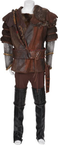 Movie/TV Memorabilia:Costumes, Star Trek TV Franchise - J.G. Hertzler and OthersScreen-Used Klingon Costume.... (Total: 5 Items)