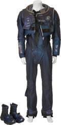 Movie/TV Memorabilia:Costumes, Red Planet - Val Kilmer Screen-Used Mars I Spacesuit Components.... (Total: 5 Items)
