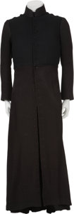 Movie/TV Memorabilia:Costumes, The Matrix Reloaded/The Matrix Revolutions - NeoCostume Black Overcoat....