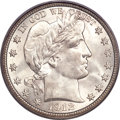 Barber Half Dollars, 1912 50C MS65 PCGS....
