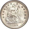 Seated Quarters, 1889 25C MS66 PCGS....