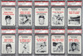 "Baseball Cards:Sets, 1961 Nu-Card ""Baseball Scoops"" High Grade Near Set (72/80). ..."
