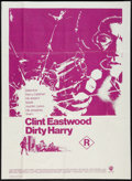 "Movie Posters:Crime, Dirty Harry (Warner Brothers, 1971). Australian One Sheet (27"" X40""). Crime.. ..."