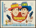 "Movie Posters:Comedy, Pardners (Paramount, R-1965). Half Sheet (22"" X 28""). Comedy.. ..."