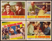 """The Square Ring (Republic, 1955). Title Lobby Card and Lobby Cards (3) (11"""" X 14""""). Sports. ... (Total: 4 Item..."""