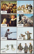 "Movie Posters:Adventure, The White Dawn (Paramount, 1974). Lobby Card Set of 8 (11"" X 14"").Adventure.. ... (Total: 8 Items)"