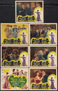 """Movie Posters:Musical, Belle of the Yukon (RKO, 1944). Title Lobby Card and Lobby Cards (6) (11"""" X 14""""). Musical.. ... (Total: 7 Items)"""