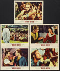 "Movie Posters:Historical Drama, Ben-Hur (MGM, 1960). Lobby Cards (5) (11"" X 14""). HistoricalDrama.. ... (Total: 5 Items)"