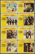 "Movie Posters:Western, Gunfight at the O.K. Corral (Paramount, 1957). Lobby Card Set of 8 (11"" X 14""). Western.. ... (Total: 8 Items)"