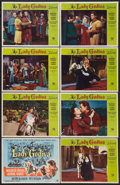 "Movie Posters:Drama, Lady Godiva (Universal International, 1955). Lobby Card Set of 8 (10.5"" X 13.5""). Drama.. ... (Total: 8 Items)"