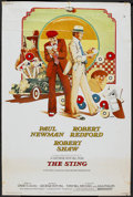 "Movie Posters:Crime, The Sting (Universal, 1974). Poster (40"" X 60""). Crime.. ..."