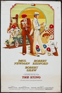 """The Sting (Universal, 1974). Poster (40"""" X 60""""). Crime"""