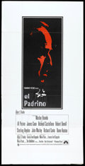 "Movie Posters:Crime, The Godfather (Paramount, 1972). British Three Sheet (39"" X 79"").Crime.. ..."