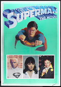 "Movie Posters:Action, Superman the Movie (Warner Brothers, 1978). Posters (2) (21"" X 30"")Mylar. Action.. ... (Total: 2 Items)"