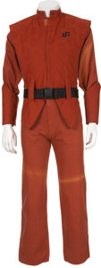 Movie/TV Memorabilia:Costumes, V TV Miniseries - Rafael Campos' Screen-Worn Visitor'sUniform. ...