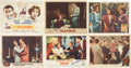 Movie/TV Memorabilia:Autographs and Signed Items, Debbie Reynolds, Angie Dickinson, and Others Actress-Signed LobbyCards.... (Total: 6 Items)